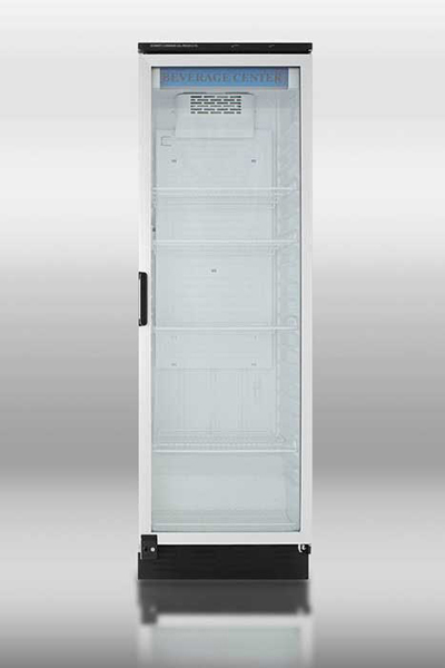 "Summit Refrigeration SCR1300 24"" One-Section Refrigerated Display w/ Swing Door, Bottom Mount Compressor, 115v"