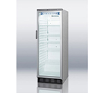 "Summit Refrigeration SCR1300CSS 23.63"" One-Section Refrigerated Display w/ Swing Door, Bottom Mount Compressor, 115v"