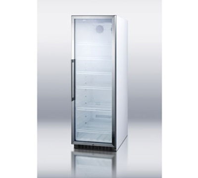 "Summit Refrigeration SCR1400W 24"" One-Section Refrigerated Display w/ Swing Door, Bottom Mount Compressor, 115v"