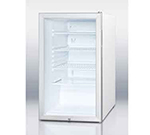 Summit Refrigeration SCR450L7 4.1-cu ft Undercounter Refrigerator w/ (1) Section & (1) Door, 115v