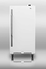 Summit Refrigeration SCUR18 Upright Freezer w/ 1-Section, Door Storage & Frost Free Defrost, White, 17.7-cu ft