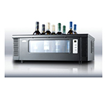 Summit Refrigeration STC1 Thermoelectric Wine Chiller w/ 8-Bottle Capacity & Digital Thermostat, Black
