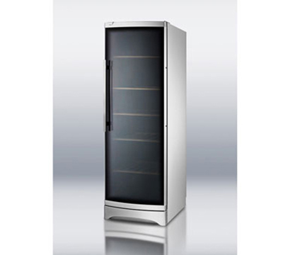 "Summit Refrigeration SWC1735C 24"" One Section Wine Cooler w/ (1) Zone - 120-Bottle Capacity, 115v"
