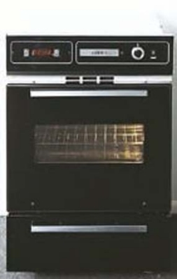 Summit Refrigeration TTM7212KW NG Wall Oven w/ Electronic Ignition, Digital Clock & Oven Window, Black, NG