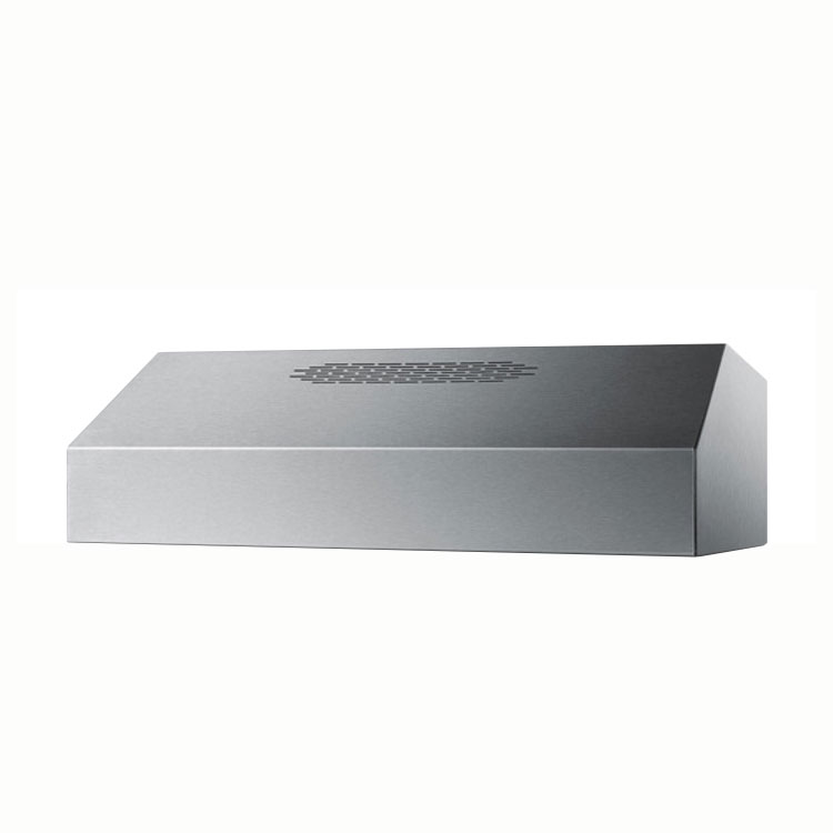 Summit ULT2824SS 24-in Convertible Range Hood w/ (2)80-Watt Halogen Lights, 8x24x19-in, Stainless