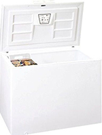 "Summit Refrigeration WCH20 65"" Wide 21.7-cu ft Commercial Chest Freezer, 115v"