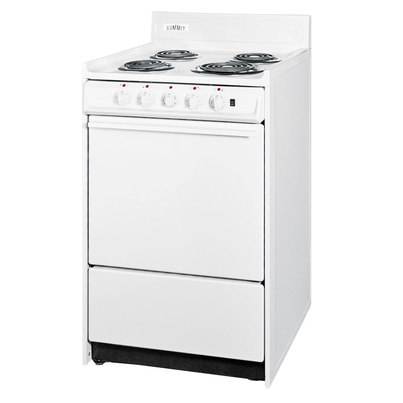 "Summit WEM1171Q 20 Electric Range w/ 5""dicator Lights"