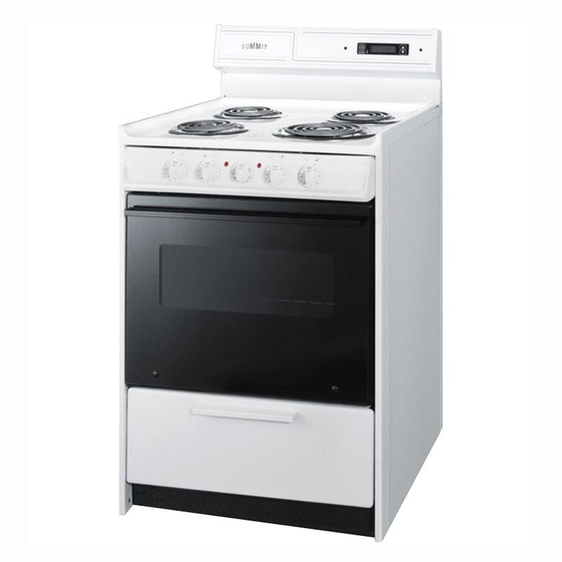 Summit WEM630DK Deluxe Coil Element Electric Range Broiler in Oven Restaurant Supply