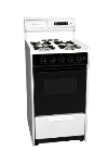 Summit Refrigeration WNM1307DK 20-in Deluxe Range w/ Electronic Ignition, Clock & Oven Window, Black, 2.5