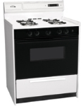 Summit Refrigeration WNM2307DFK NG 30-in Deluxe Range w/ Sealed Burners, Electronic Ignition & Lower Broiler, 3.69-cu ft
