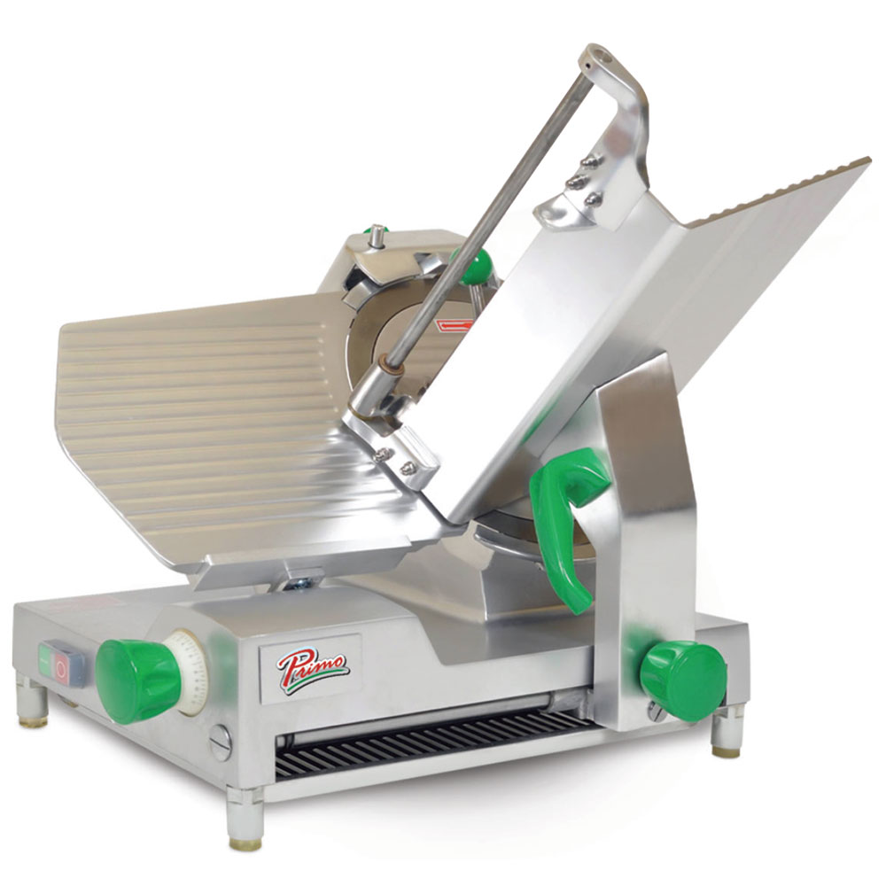 "Presto! PS-12D Deluxe Compact Meat Slicer w/ 12"" Blade & .5-HP Motor, 120 V"