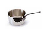 Mauviel 5610.17 1.9-qt Saucepan w/ Lid & Cast Iron Handle