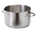 "Mauviel 5933.28 11"" Round Stock Pot w/ 17.4-qt Capacity - Stainless"