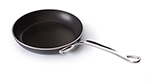 Mauviel 8229.30 12-in Round Frying Pan w/ Cast Stainless Handle