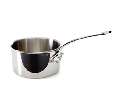 Mauviel 5210.18 2.7-qt Saucepan - Induction Compatible, 18/10 Stainless
