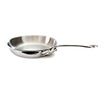 Mauviel 5213.28 11-in Round M'cook Fry Pan w/ Handle, Stainless