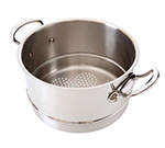 "Mauviel 5221.24 9.5"" Round M'cook Basket Insert for Stew Pans, Stainless"