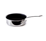 Mauviel 5224.24 9.5-in Non Stick Saute Pan w/ 3.4-qt Capacity, Stainless