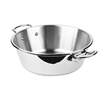 Mauviel 5245.36 10.6-qt Saucepan - Induction Compatible, 18/10 Stainless