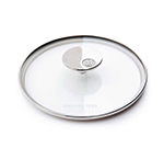"Mauviel 5318.28 11"" Round M'cook Glass Lid"