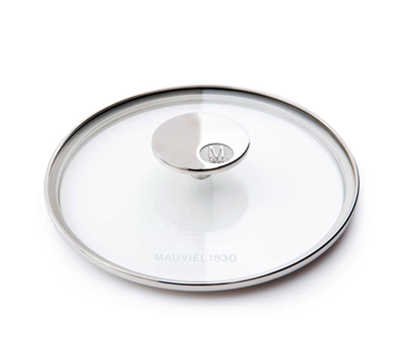 "Mauviel 5318.20 8"" Round M'cook Glass Lid"