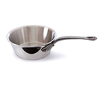 Mauviel 5623.16 6.3-in Round M'cook Splayed Saute Pan w/ .9-qt Capacity & Cast Iron Handle