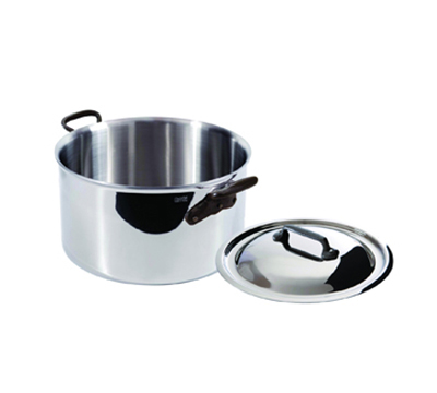 Mauviel 5631.29 11-in Round M'cook Stew Pan w/ 9.1-qt Capacity & Handles, Lid