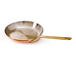 Mauviel 6526.26 10.2-in Round M'150b Fry Pan w/ Bronze Handle, Copper