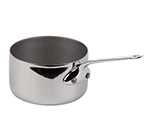 "Mauviel 5101.09 3.5"" Round M'cook Mini Sauce Pan w/ .3-qt Capacity, Stainless"