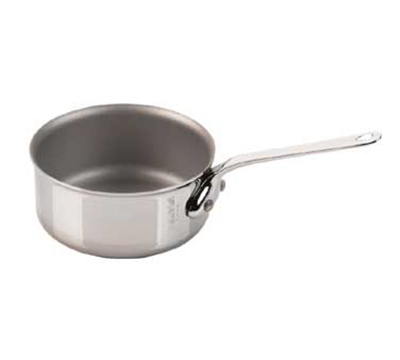 "Mauviel 5111.07 2.75"" Round M'minis M'cook Saute Pan w/ .1-qt Capacity, Stainless"