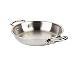 Mauviel 5238.24 9.5-in M'cook Round Pan w/ Handles, Stainless