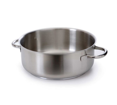 Mauviel 5937.32 10.5-qt Stainless Steel Braising Pot