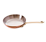 Mauviel 6513.12 4.75-in Round M'minis M'150b Fry Pan w/ .3-qt Capacity & Bronze Handles, Copper