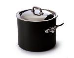 Mauviel 823275 9.5-qt M'Stone Stock Pot w/ Cast Stainless Handle & Glass Lid
