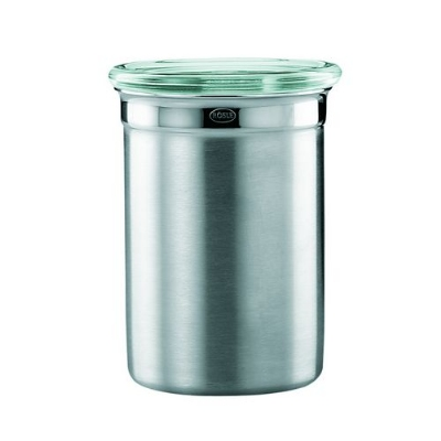 Rosle 16507 7/10 qt Canister With Clear Glass Lid
