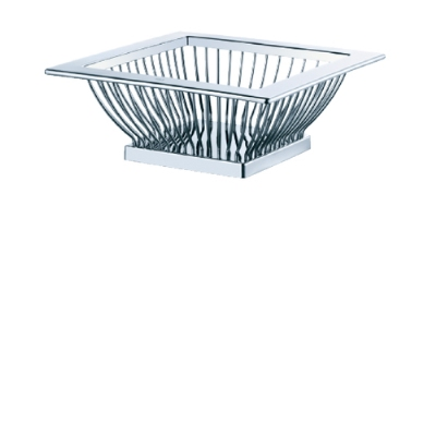Rosle 21017 Stainless Steel Bread Basket
