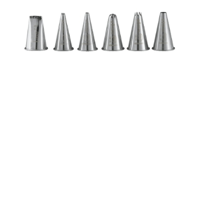 Rosle 94330 Stainless Steel Nozzles, Set of Six