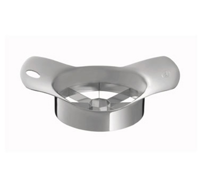 Rosle 12743 6.2-in Apple Cutter w/ 8-Slice Capacity & Core Remover, Stainless