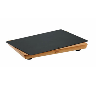 Rosle 15000 Practical Cutting Board w/ Non Slip Rubber Feet & Layers Beech Wood, 9.8x13.8-in