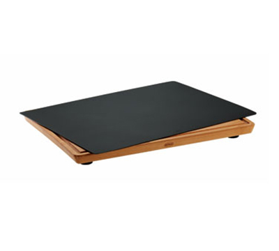 Rosle 15010 Practical Cutting Board w/ Non Slip Rubber Feet, Layers Beech Wood, 13.8x17.7-in