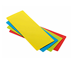 Rosle 15016 4-Space Saving Cutting Mats w/ Non Slip Reverse Side & Flexible, 7.1x17.7""