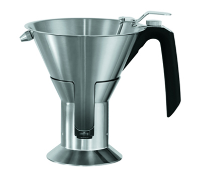 Rosle 16229 Confectionary Funnel w/ 1.3-qt Capacity & 2-Nozzle, Ergonimic Handle