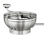 Rosle 16251 Food Mill w/ 2-Sieve Disc, 9.4-in Round, Stainless