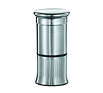 Rosle 16683 4.7-in Extra Fine Nutmeg Mill w/ Storage, 2.2-in Round, Stainless
