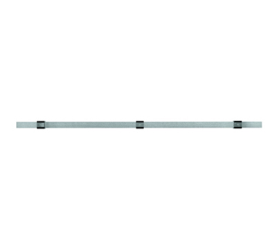 Rosle 19454 39.4-in Kitchen Rail w/ Wall Attachment Set, Stainless