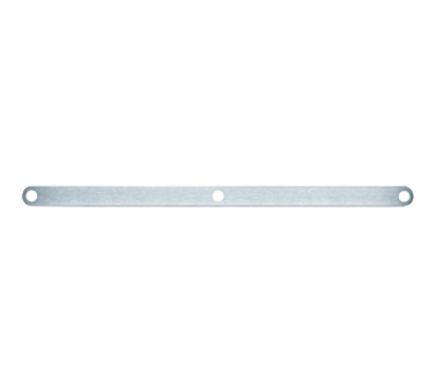 Rosle 19514 39.4-in Standard Rail, Stainless