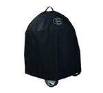 "Rosle 25021 24"" Charcoal Kettle Grill Cover w/ Velcro Bands, Polyester, Black"