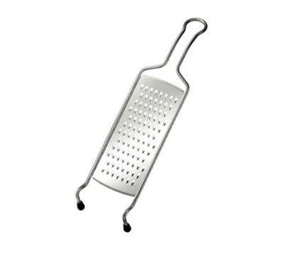 Rosle 95021 15.7-in Medium Grater w/ Wire Frame & Non-Slip Feet, Stainless