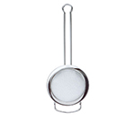"Rosle 95158 3.1"" Round Tea Strainer w/ Fine Mesh & Wire Handle, Stainless"
