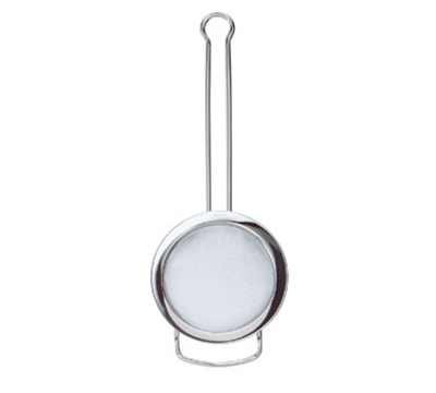 Rosle 95158 3.1-in Round Tea Strainer w/ Fine Mesh & Wire Handle, Stainless
